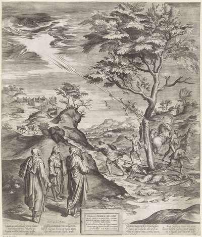 Image from object titled H. Filippus Benizi van de Servieten straft de godslasteraars