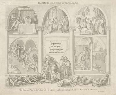 Aventure vor den Nibelungen. 1817