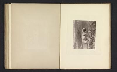 Fotoreproductie van een schilderij van een jachthond door vermoedelijk George Earl