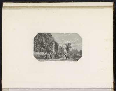 Schuttersdoelen te Amsterdam, ca. 1650; Schuttersdoelens