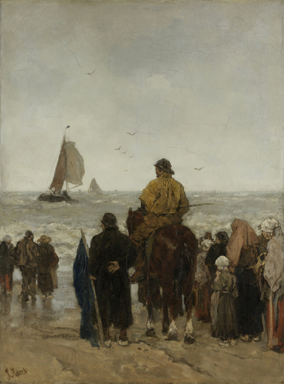 Image from object titled Arrival of the Boats