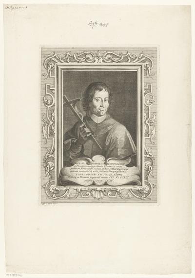 Portret van bisschop Michele Carlo Cortigiani; Portretten van bisschoppen en kardinalen