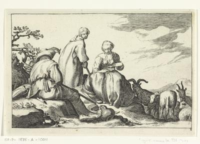 Herders; Vier pastorale scènes