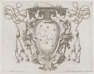 Wapenschild van kardinaal Cinzio Aldobrandini