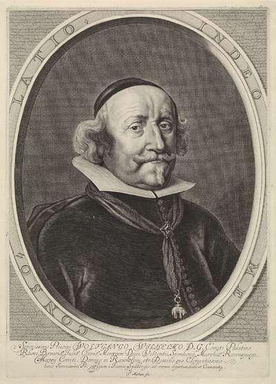 Portret van Wolfgang Willem van de Palts-Neuburg