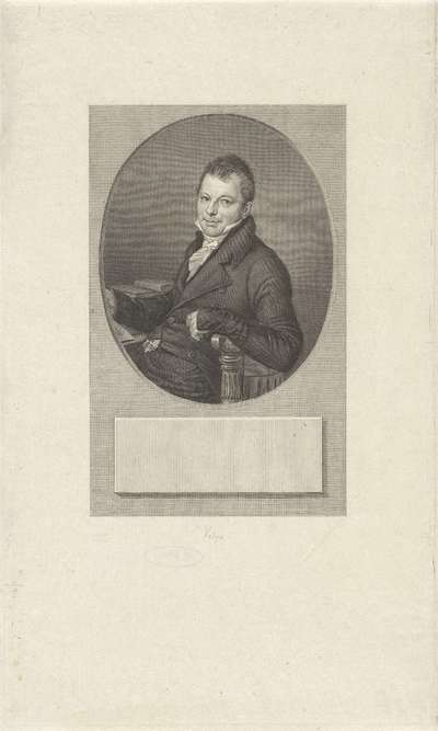Portret van Johannes Hermannus Molkenboer