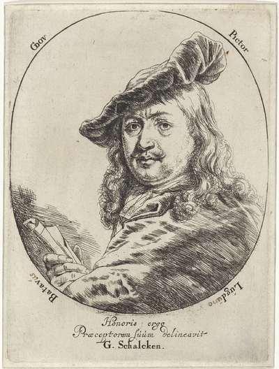 Portret van Gerard Dou