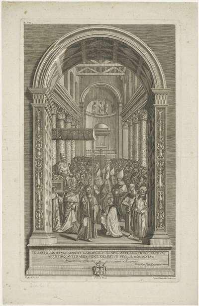 Enea Silvio Piccolomini uitgeroepen tot paus; Het leven van Paus Pius II