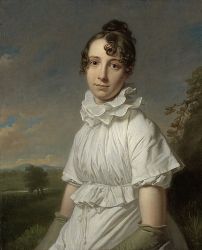 Image from object titled Portrait of Emma Jane Hodges