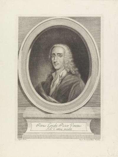 Portret van schilder Pietro Longhi