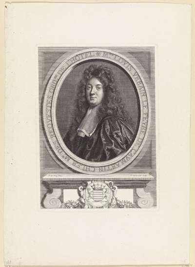 Portret van Louis Urbain le Fèvre de Caumartin, Frans raadsman