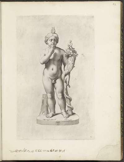 Standbeeld van Harpocrates; Galleria Giustiniana del Marchese Vincenzo Giustiniani I