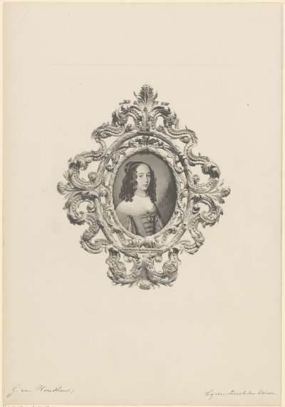 Portret van Louise Henriëtte, prinses van Oranje