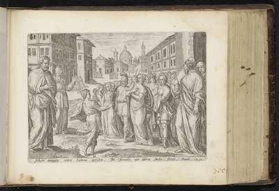 Daniël gaat in tegen veroordeling van Susanna; De Historie van Susanna; Geschiedenis van Susanna; Den Grooten Figuer-Bibel (...)