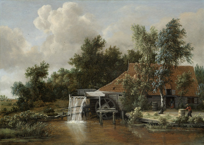 Image from object titled A Watermill