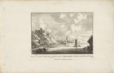 Oberwesel aan de Rijn; Vermakelijke gezigten aan den Rhijnstroom; Admirandorum quadruplex spectaculum