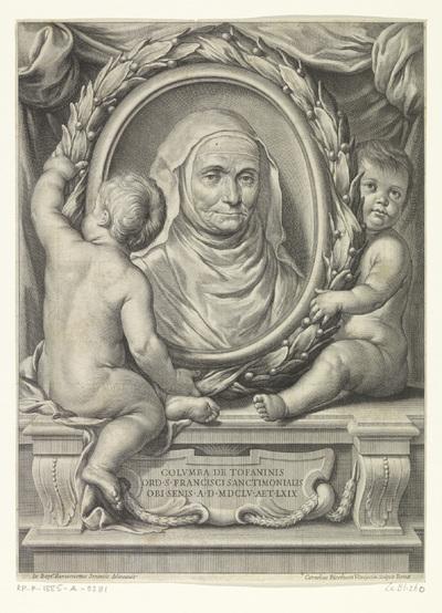 Portret van Zuster Columba
