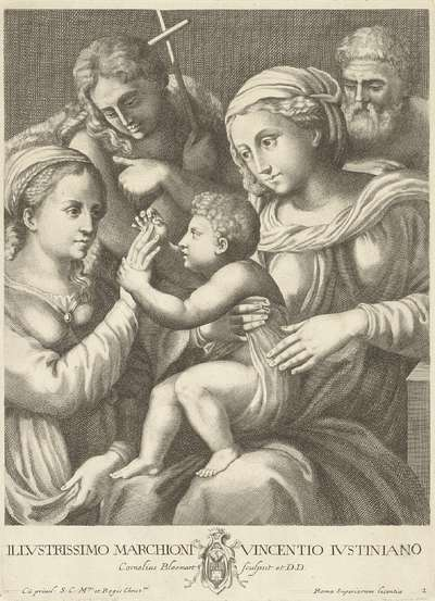 Het huwelijk van de heilige Catharina