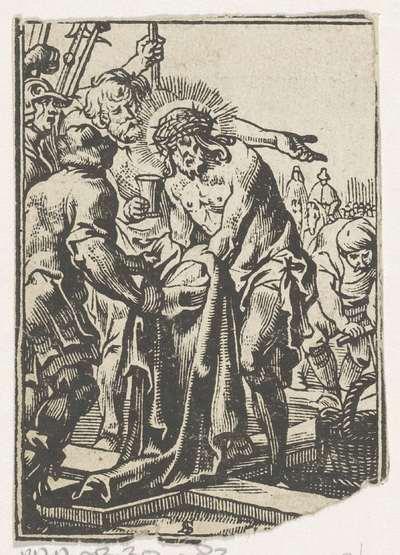 Christus wordt ontkleed