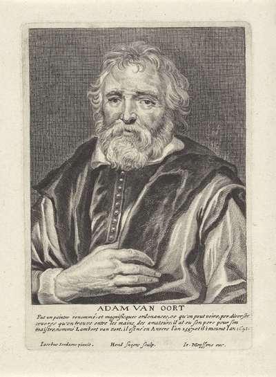Portret van Adam van Noort