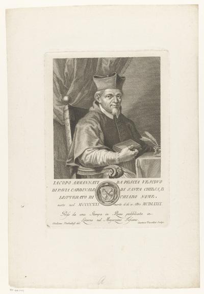 Portret van kardinaal Jacopo Ammannati
