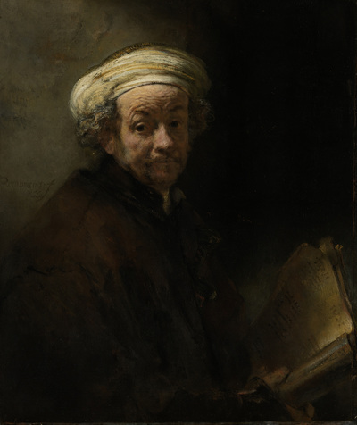 Self Portrait as the Apostle Paul | Rijn, Rembrandt van