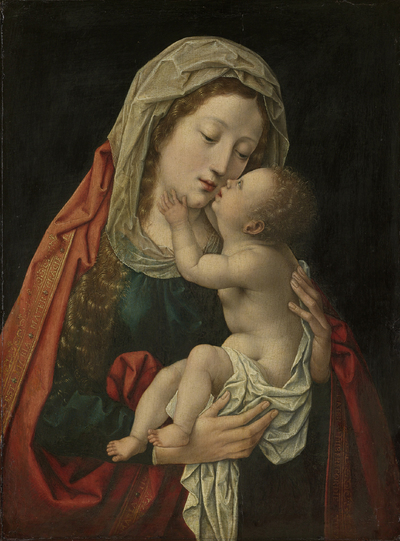 Image from object titled The Virgin and Child