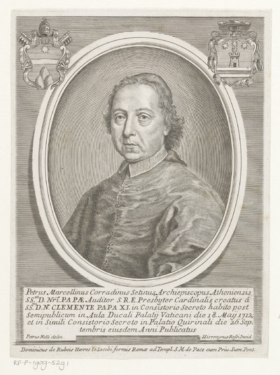 Portret van kardinaal Pier Marcellino Corradini