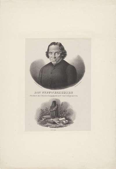 Portret van Jan Nieuwenhuijzen