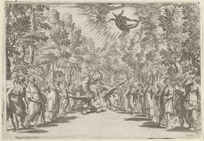 Apollo en de python; Perseus en de draak