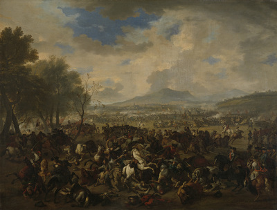 Image from object titled The Battle of Ramillies between the French and the Allied Powers, 23 May 1706; The Battle of Ramillies between the French and the English, 23 May 1706