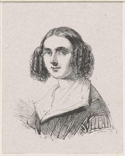 Portret van Marie Adelaïde Kindt
