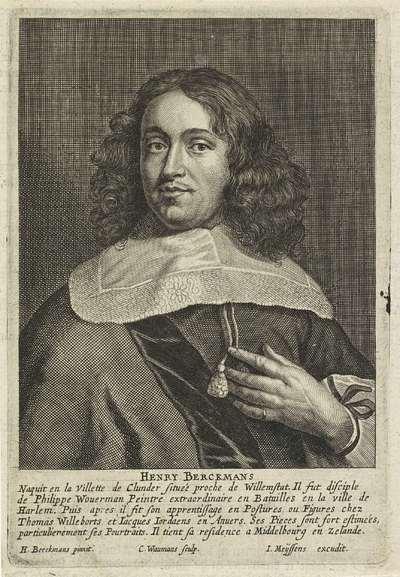 Portret van de schilder Hendrick Berckman