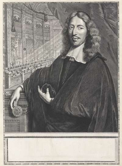 Portret van Johan de Witt
