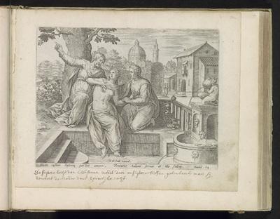 Susanna en de ouderlingen; Geschiedenis van Susanna; Thesaurus sacrarum historiaru[m] veteris testame[n]ti, elega[n]tissimis imaginibus expressu[m] excelle[n]tissimoru[m] in hac arte viroru[m] opera: nu[n]c primu[m] in...