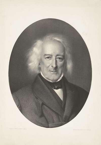 Portret Jacob van Lennep; Jac. van Lennep