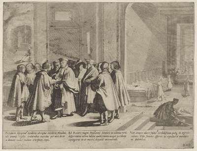 Drie episoden uit het leven van de heilige Bernardinus van Siena; Het leven van de heilige Bernardinus van Siena