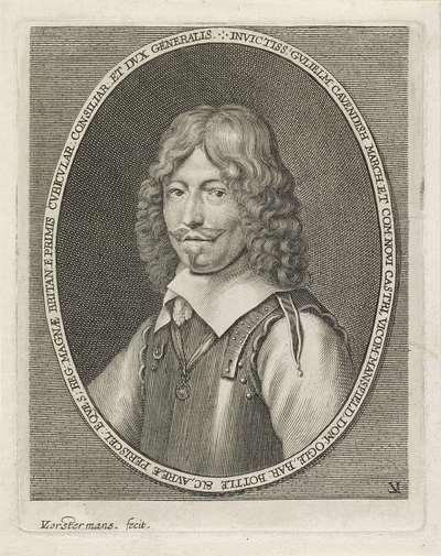 Portret van William Cavendish, graaf van Newcastle