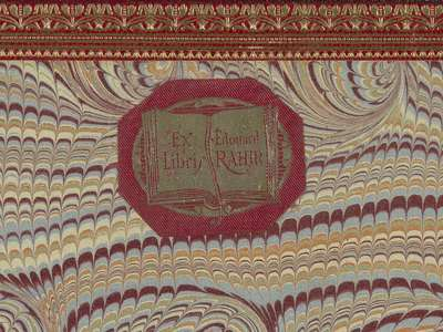 Image from object titled Ex libris van Edouard Rahir