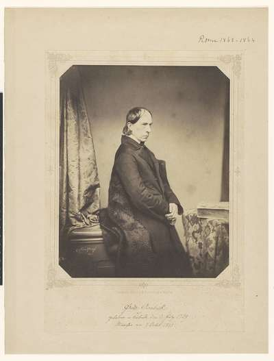 Portret van Friedrich Overbeck