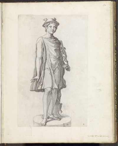 Standbeeld van Mercurius; Galleria Giustiniana del Marchese Vincenzo Giustiniani I