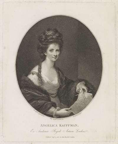 Portret van Angelica Kauffman