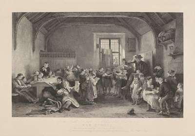 The school; De School. D. Wilkie p.
