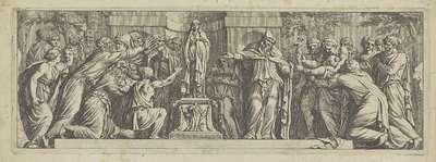 Beeld van Niobe aanbeden; Het leven van Niobe (kopieën)