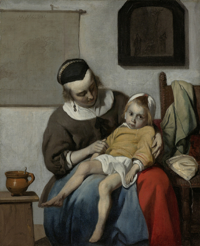 Image from object titled The Sick Child