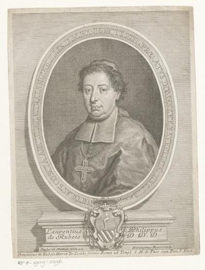Portret van geestelijke Niccolò Coscia