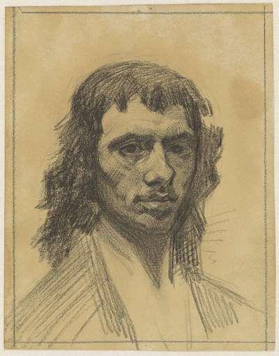 Zelfportret van Carel Fabritius