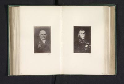 Fotoreproductie van een schilderij, voorstellende een portret van William Dixon