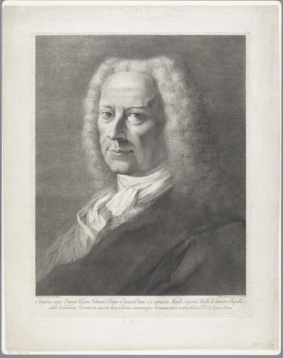 Portret van schilder Giambettino Cignaroli