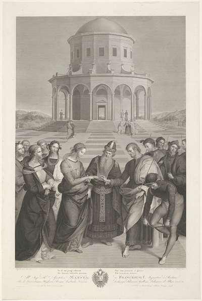 Huwelijk van Maria en Jozef; Lo sposalizio